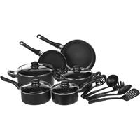 AmazonBasics Juego de utensilios de cocina antiadherentes