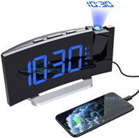 Mpow Radio Despertador Digital Proyector
