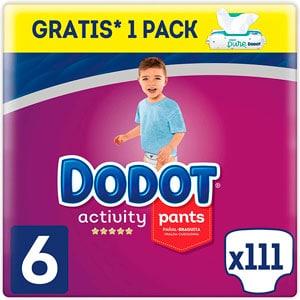 Dodot Activity Pants Pañal-Braguita Talla 6