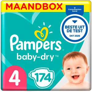 Pampers Baby Dry Talla 4