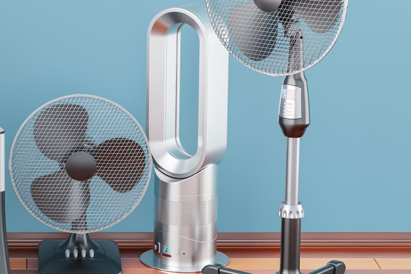 mejores ventiladores sin aspas